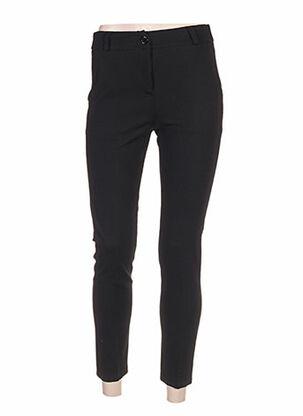 Pantalon casual noir CLARENCE ET JUDE pour femme