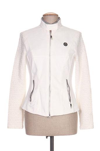 sportalm vestes femme de couleur blanc