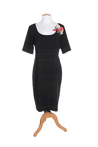 cristina effe robes femme de couleur noir