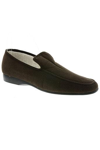 exquise chaussures homme de couleur marron