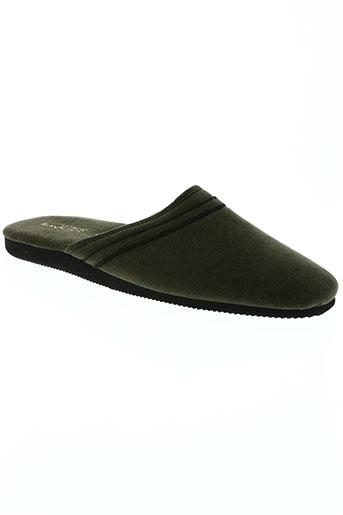 exquise chaussures homme de couleur vert