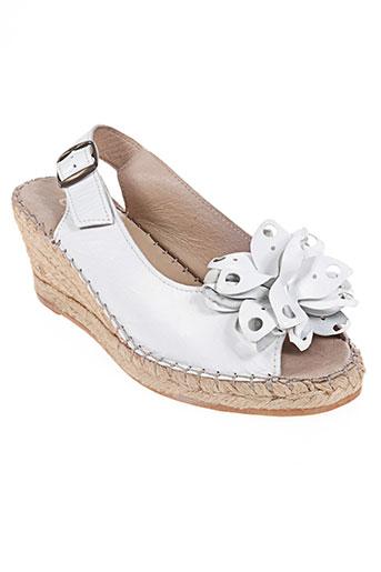 chacal chaussures femme de couleur blanc