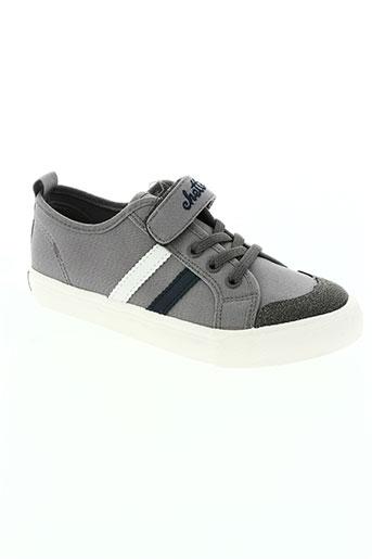 chetto chaussures garçon de couleur gris