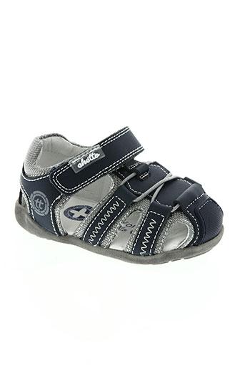 chetto chaussures garçon de couleur bleu