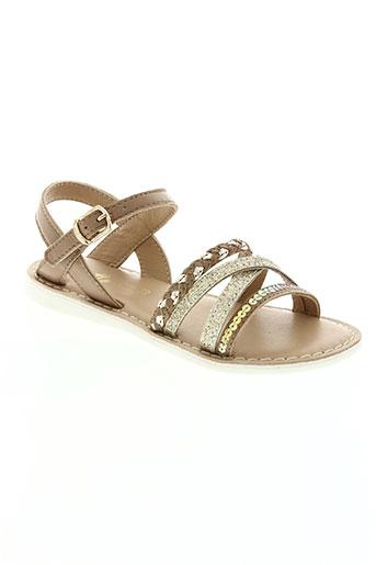 chetto chaussures fille de couleur beige