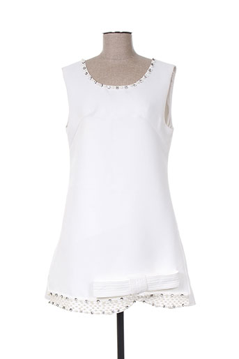 eyedoll robes femme de couleur blanc