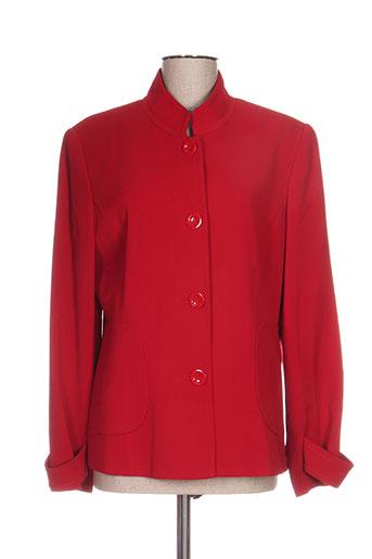 duo vestes femme de couleur rouge