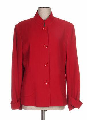 Veste chic / Blazer rouge DUO pour femme
