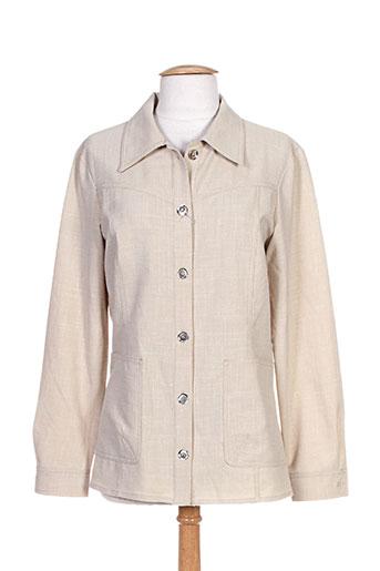 sym vestes femme de couleur beige