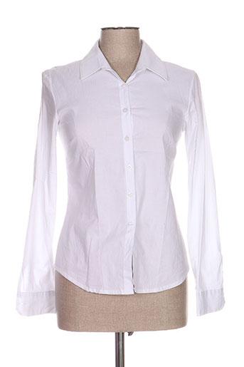 callisto chemises femme de couleur blanc