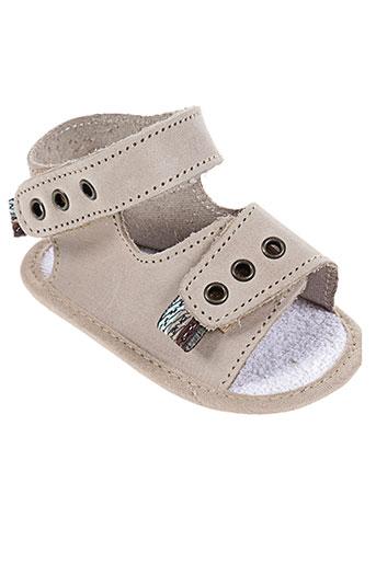 chauss'coeur chaussures enfant de couleur beige