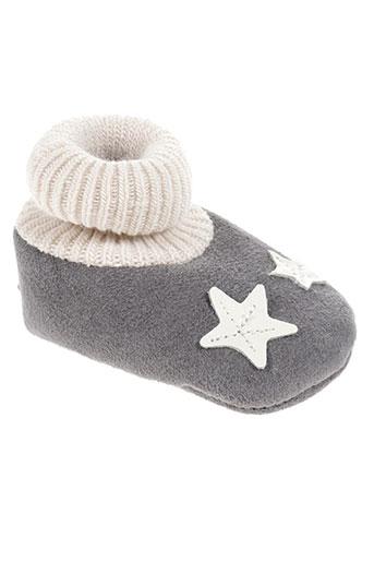 chauss'coeur chaussures enfant de couleur gris