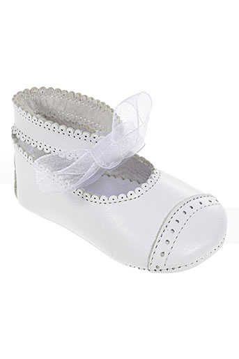 chauss'coeur chaussures enfant de couleur blanc