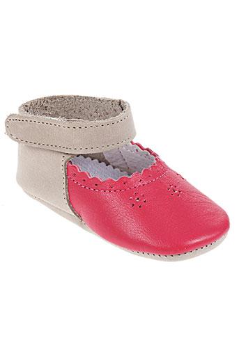 chauss'coeur chaussures enfant de couleur rouge