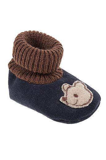 chauss'coeur chaussures enfant de couleur bleu