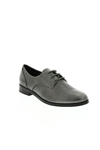 metamorf'ose chaussures femme de couleur gris