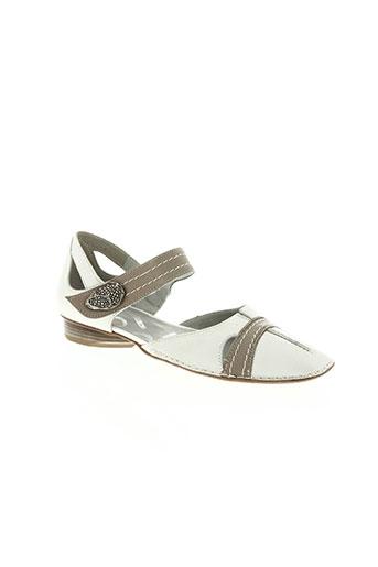 pomares vazquez chaussures femme de couleur blanc