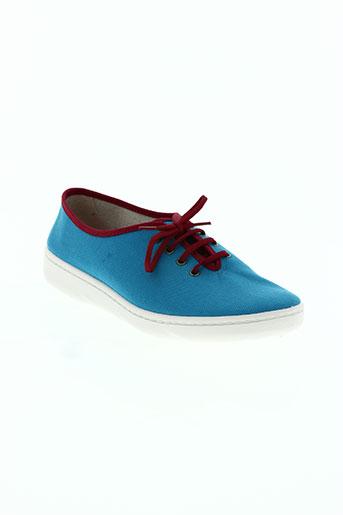 telles qu'elles chaussures femme de couleur bleu