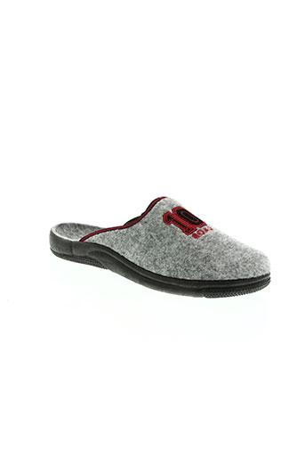 monchausson chaussures femme de couleur gris