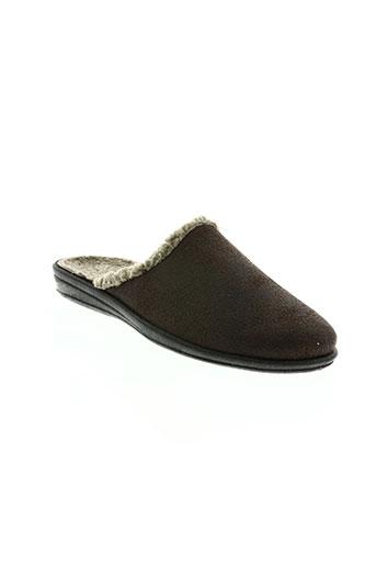 monchausson chaussures homme de couleur marron