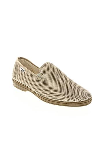 american stadium chaussures homme de couleur beige