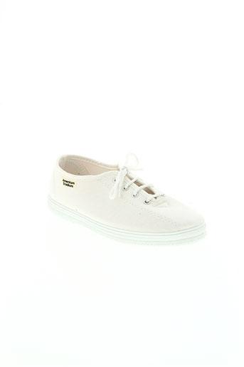 american stadium chaussures femme de couleur blanc
