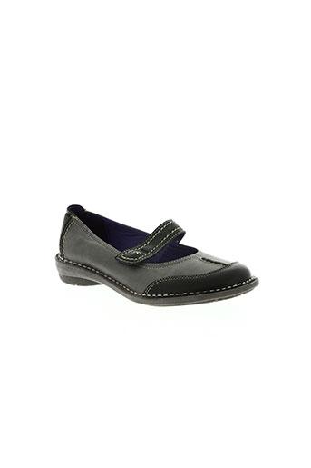 chacal chaussures fille de couleur gris