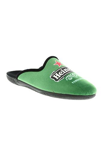 elue par nous chaussures homme de couleur vert