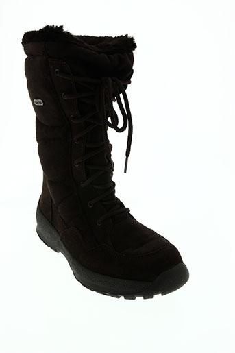 ayoka chaussures femme de couleur marron