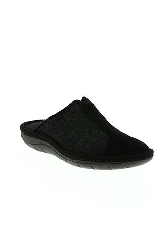 semelflex chaussures unisexe de couleur noir