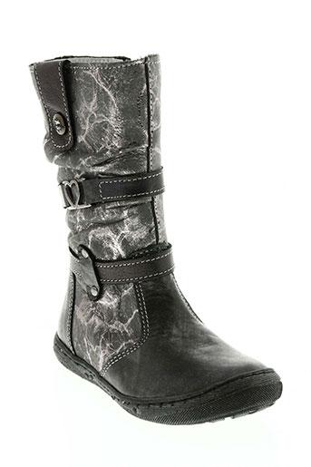 bellamy chaussures fille de couleur gris