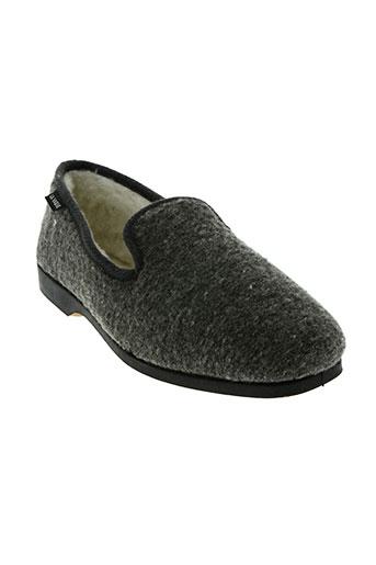 la vague chaussures homme de couleur gris