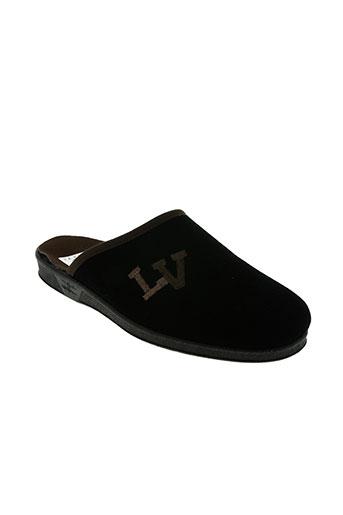 la vague chaussures homme de couleur noir