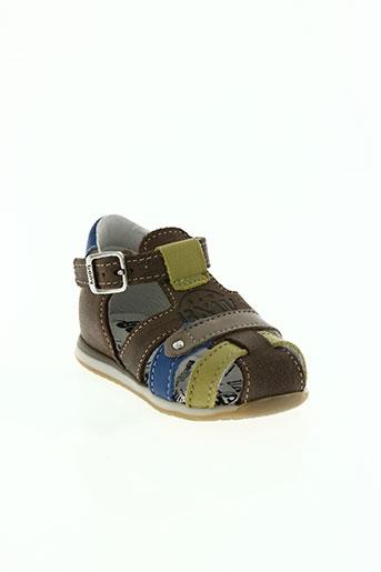 bopy chaussures garçon de couleur vert