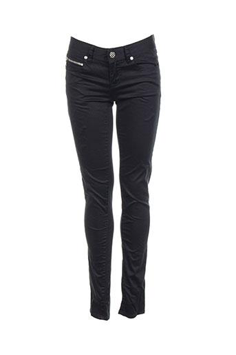 ddp jeans femme de couleur noir