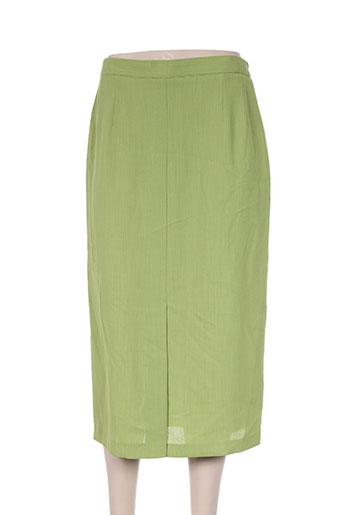 Jupe mi-longue vert CHARLES LORENS pour femme