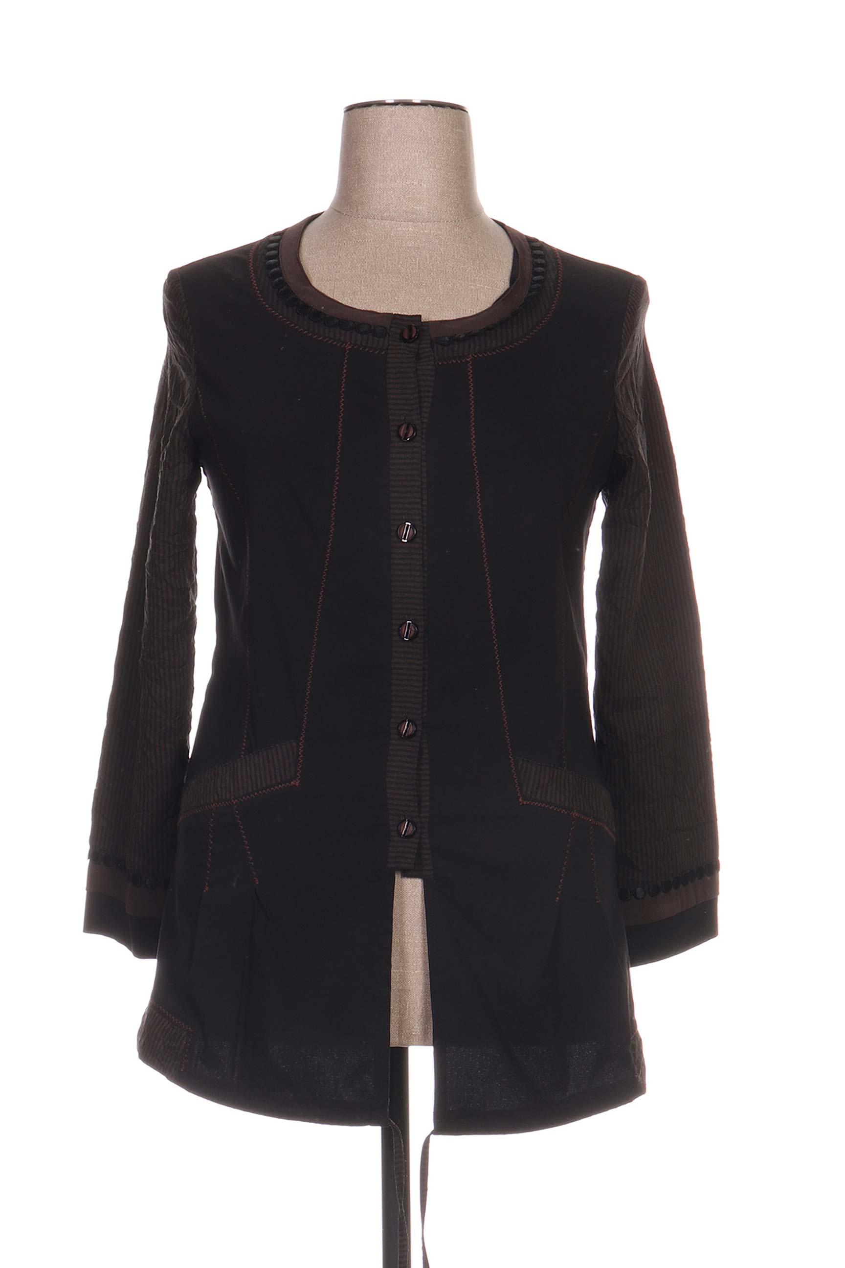Veste casual femme Jean Gabriel noir taille : 44 37 FR (FR)