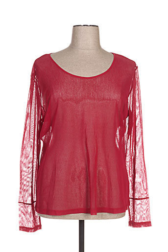 fille des sables t-shirts femme de couleur rouge