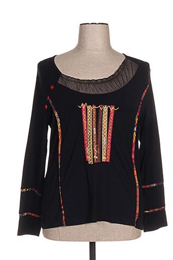 jean gabriel chemises femme de couleur noir