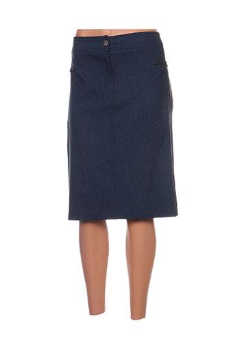 jean gabriel jupes femme de couleur bleu