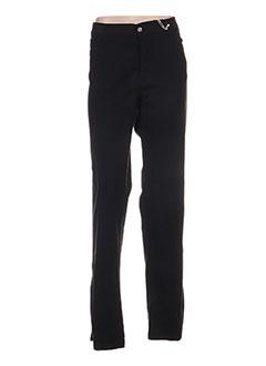 Pantalon casual noir AQUAJEANS pour femme