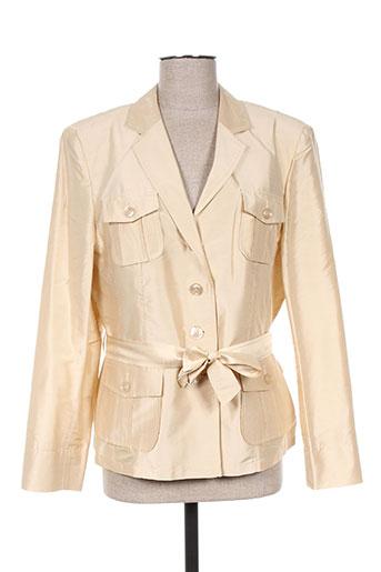 basler vestes femme de couleur beige
