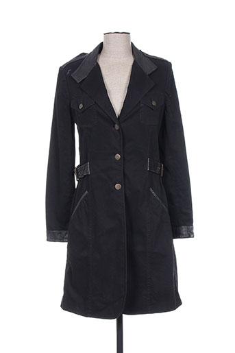 isabel de pedro manteaux femme de couleur noir