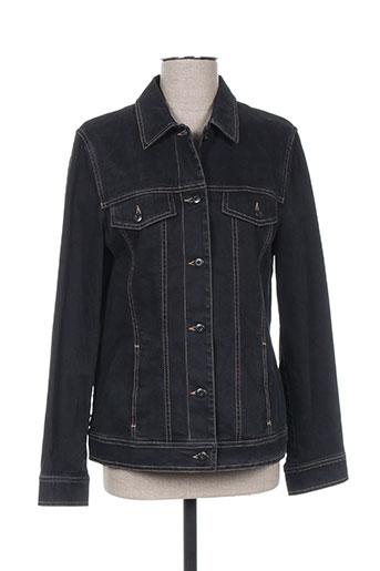Veste casual noir HAUBER pour femme