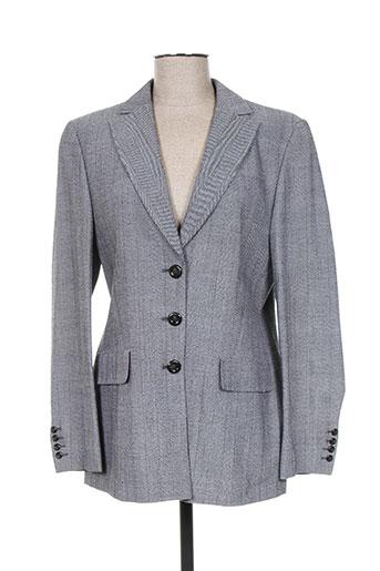 Veste chic / Blazer gris HAUBER pour femme