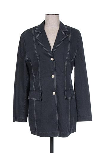 Veste chic / Blazer noir HAUBER pour femme