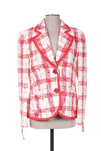 Veste chic / Blazer rouge HAUBER pour femme