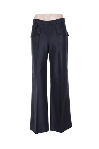 Pantalon casual bleu INFINITIF pour femme