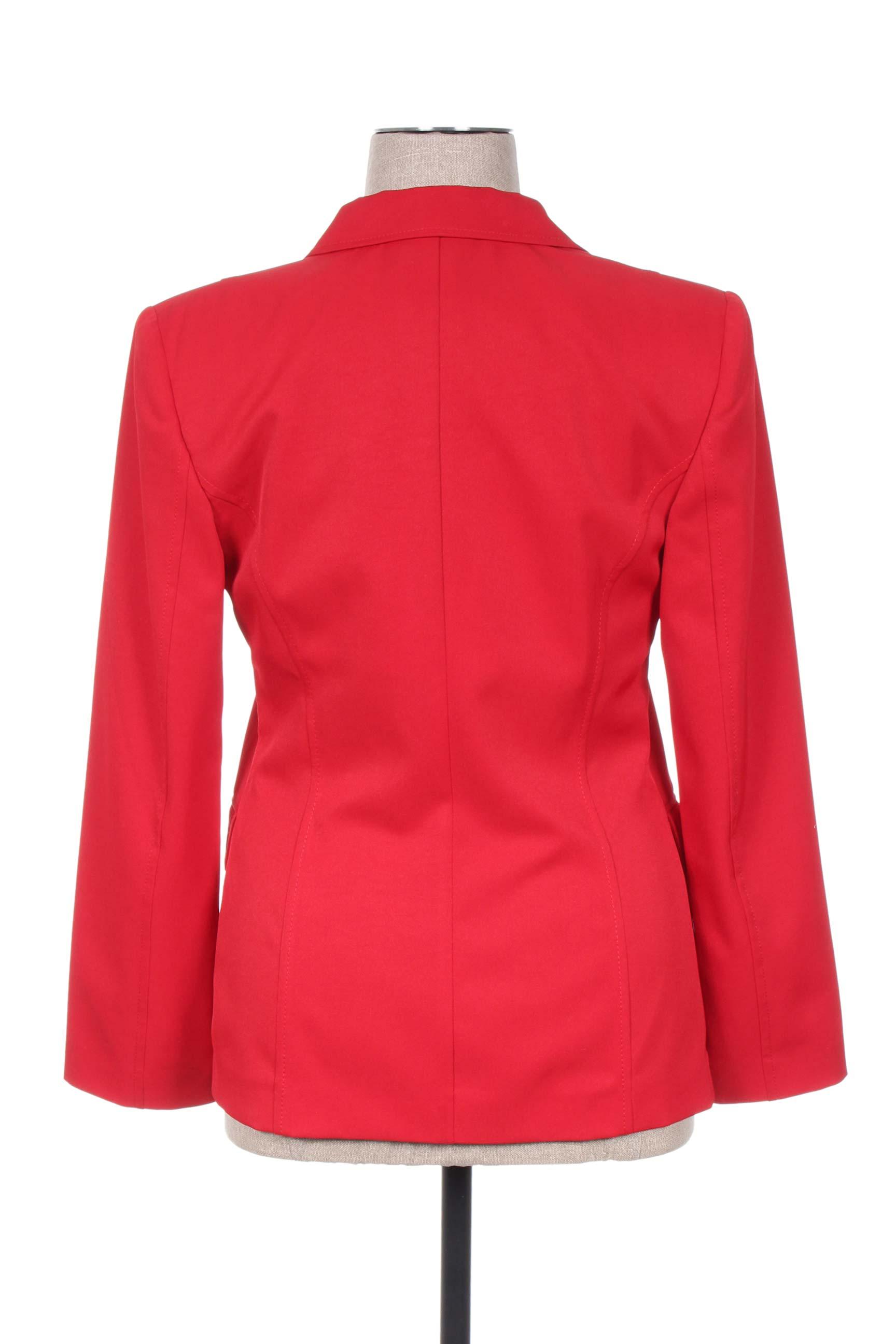Mariella Rosati Vestecasual Femme De Couleur Rouge En Soldes Pas Cher 1124875-rouge0