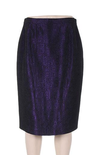 m daquin jupes femme de couleur violet